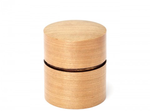 茶筒(平)さくら