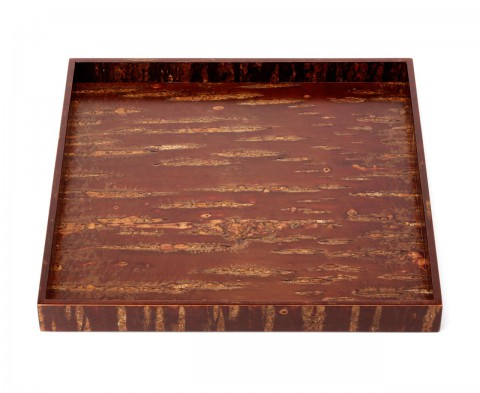 square tray - Natural